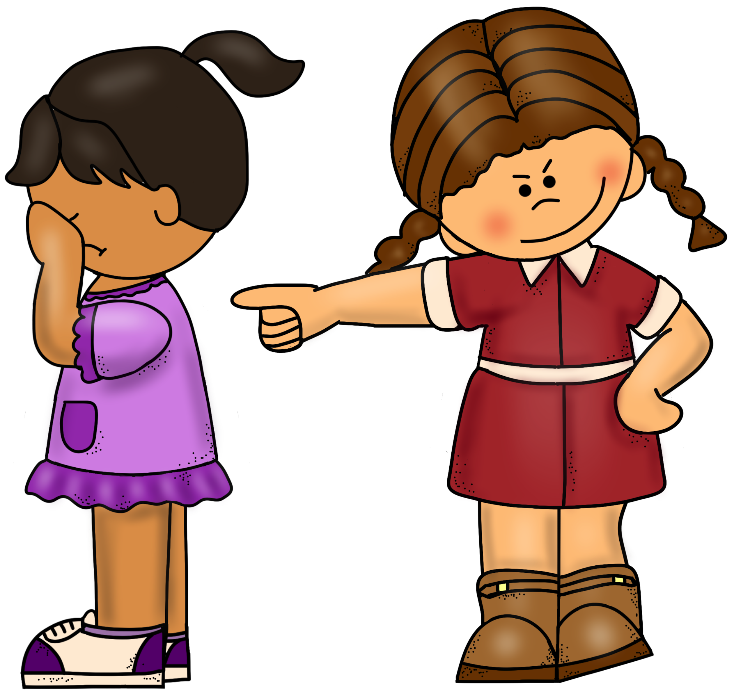 Bullying Clip Art.
