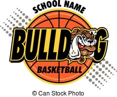 Bulldog basketball Clip Art Vector Graphics. 93 Bulldog basketball.