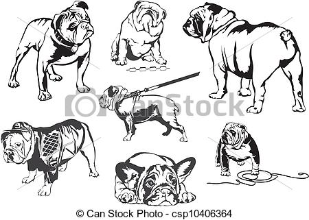 Black bulldog Clip Art Vector Graphics. 1,719 Black bulldog EPS.