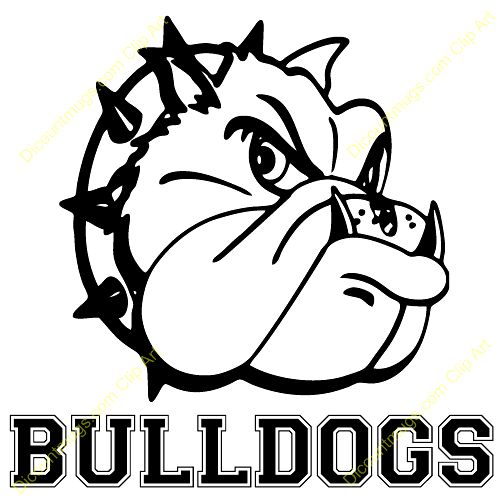 Best Bulldog Clipart #15068.