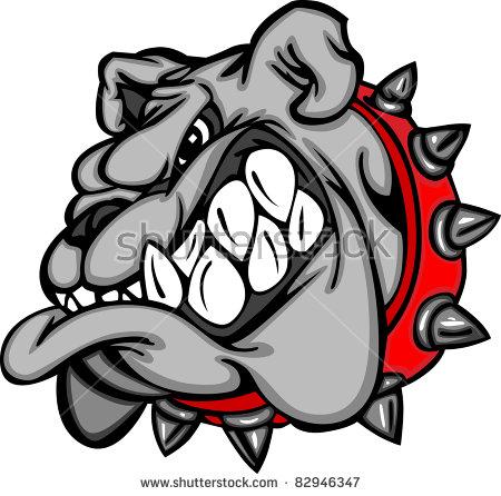 Bulldog Mascot Stock Images, Royalty.