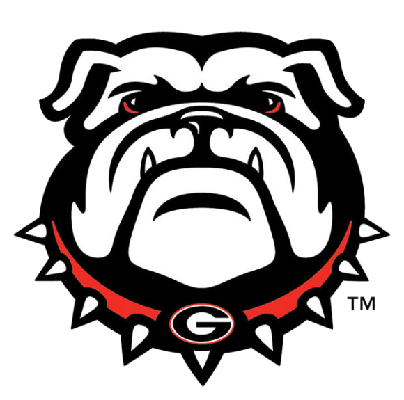Georgia Bulldog Football Clipart Transparent Png.