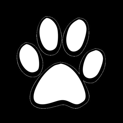 Paw Print Clipart Bulldog Clip Art Transparent Png.