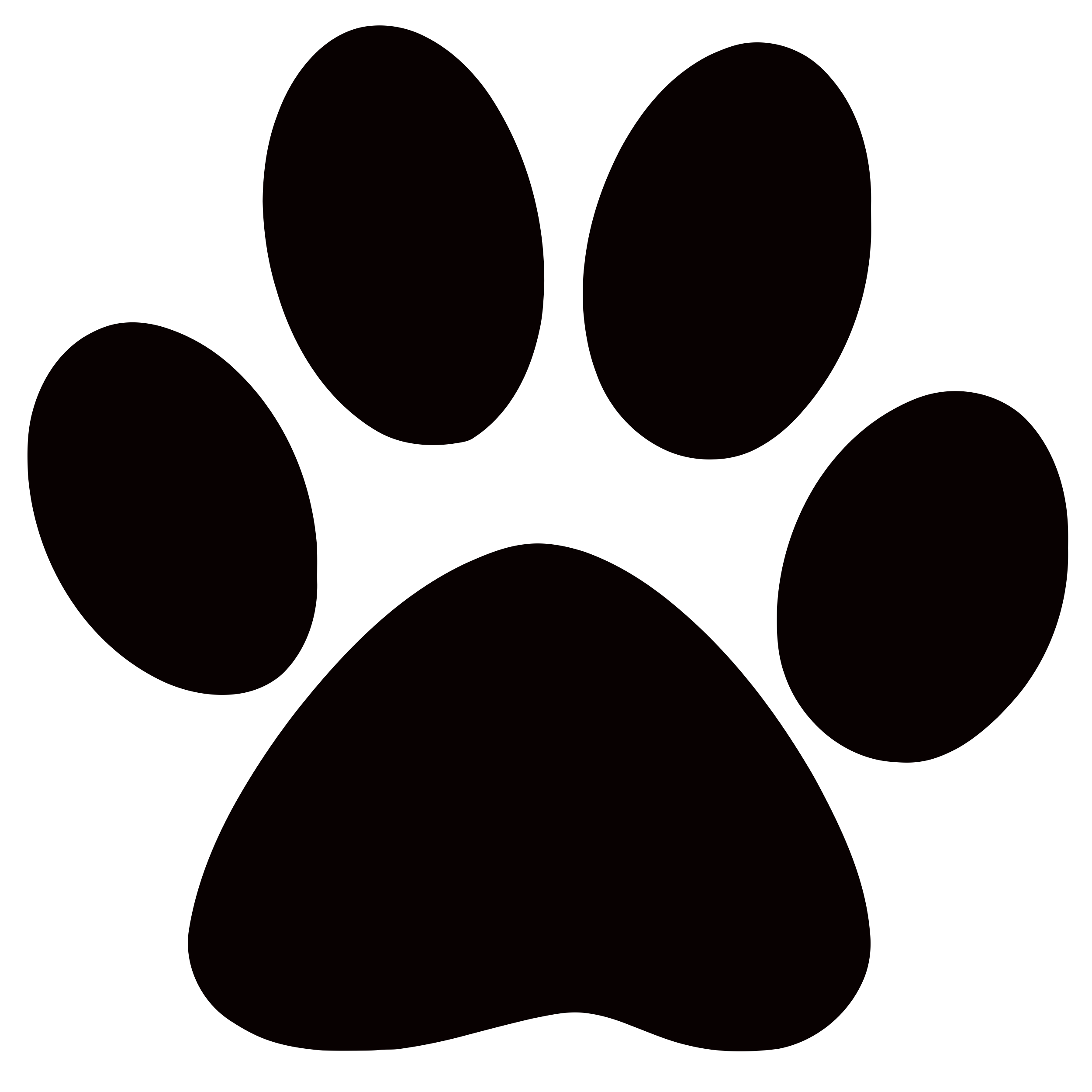 Dog paw prints panther paw print clip art clipart locker.