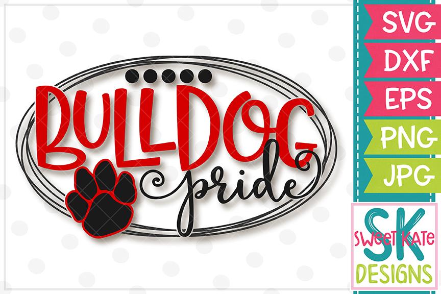 Bulldog Pride SVG DXF EPS PNG JPG.