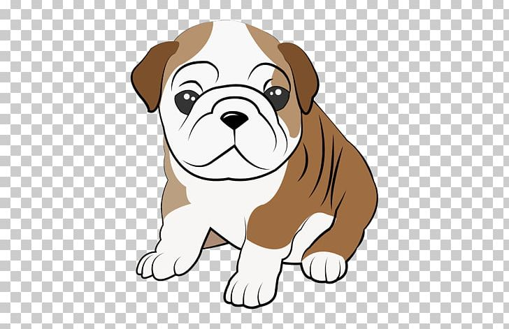 Bulldog Puppy Dog Breed Companion Dog Non.