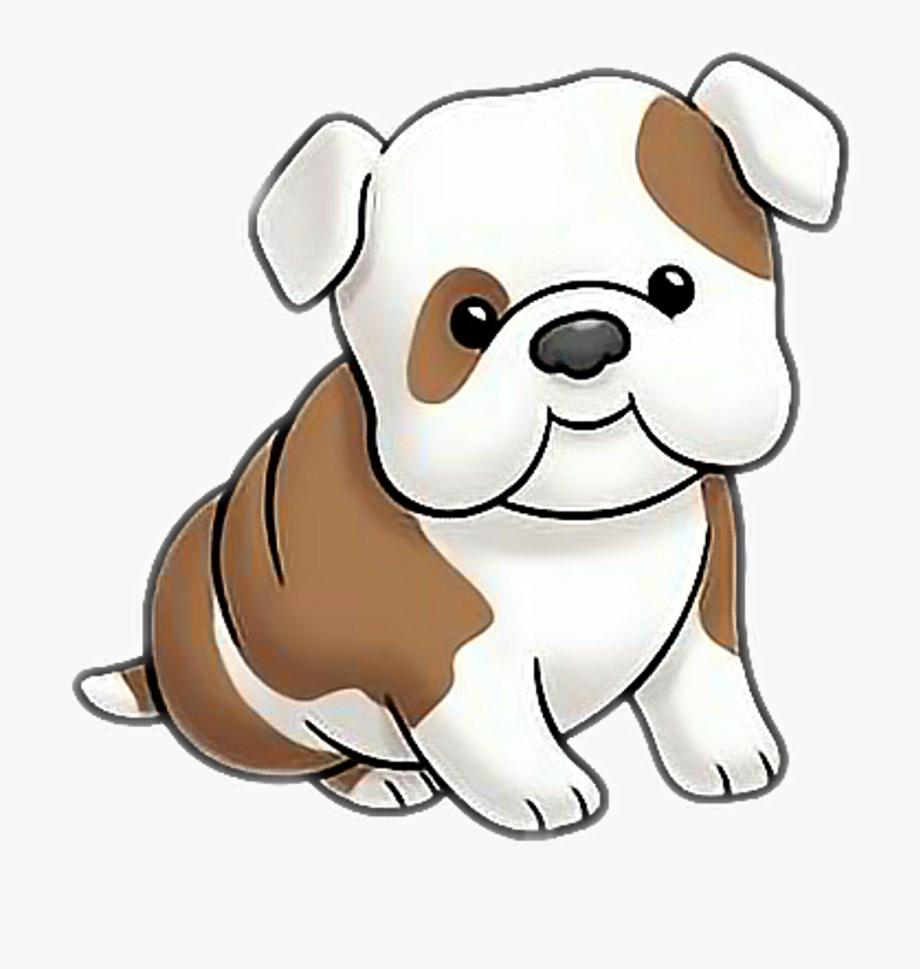 dog #bulldog #puppy #cartoon.