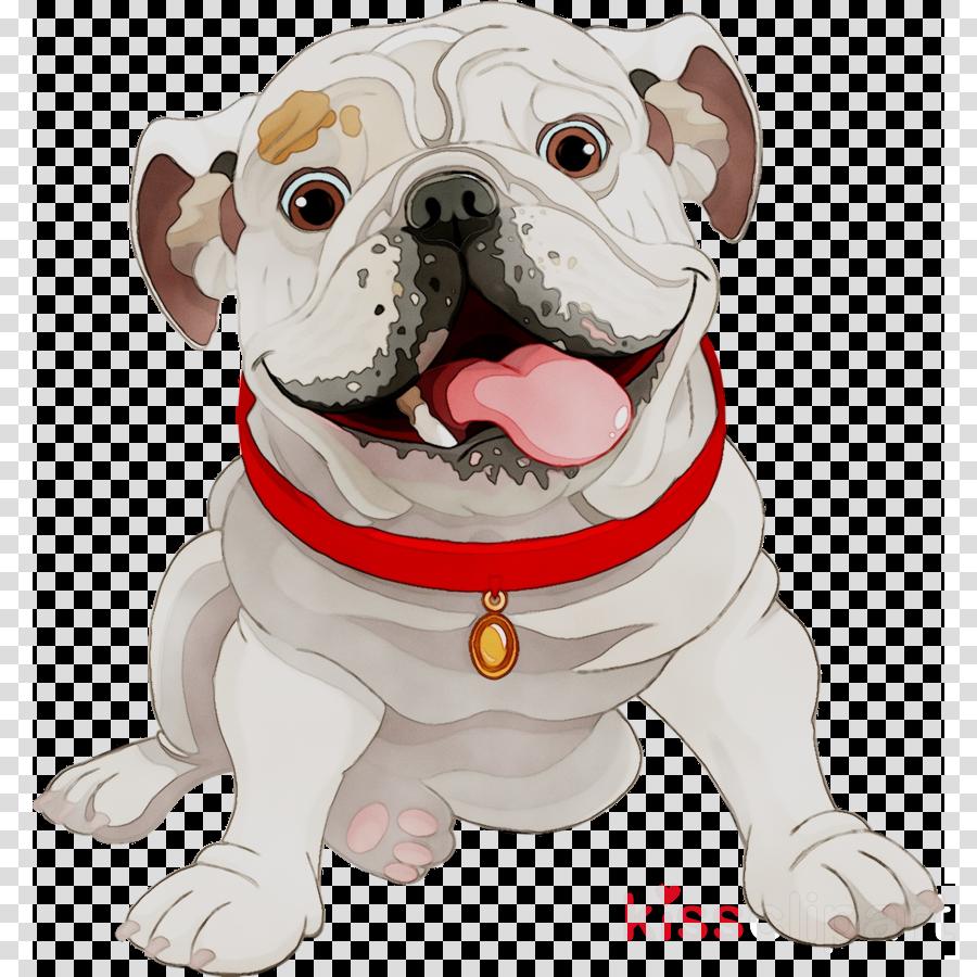 American Bulldog clipart.