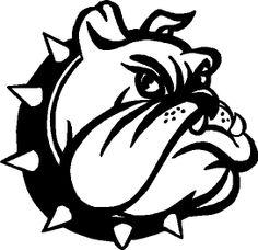 Bulldogs on clip art blue bulldog and mississippi 2 clipartbold.