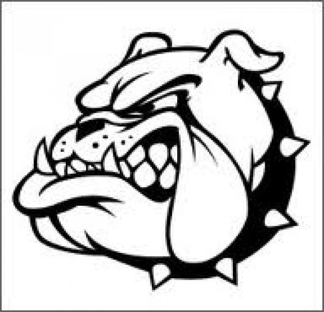 Georgia Bulldog Clipart.