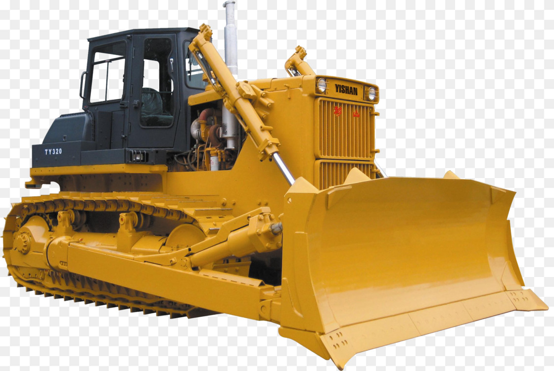 Construction Equipment,Harvester,Bulldozer Transparent PNG.