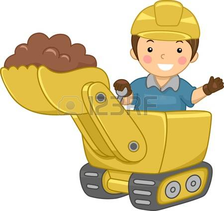 7,379 Bulldozer Stock Vector Illustration And Royalty Free.