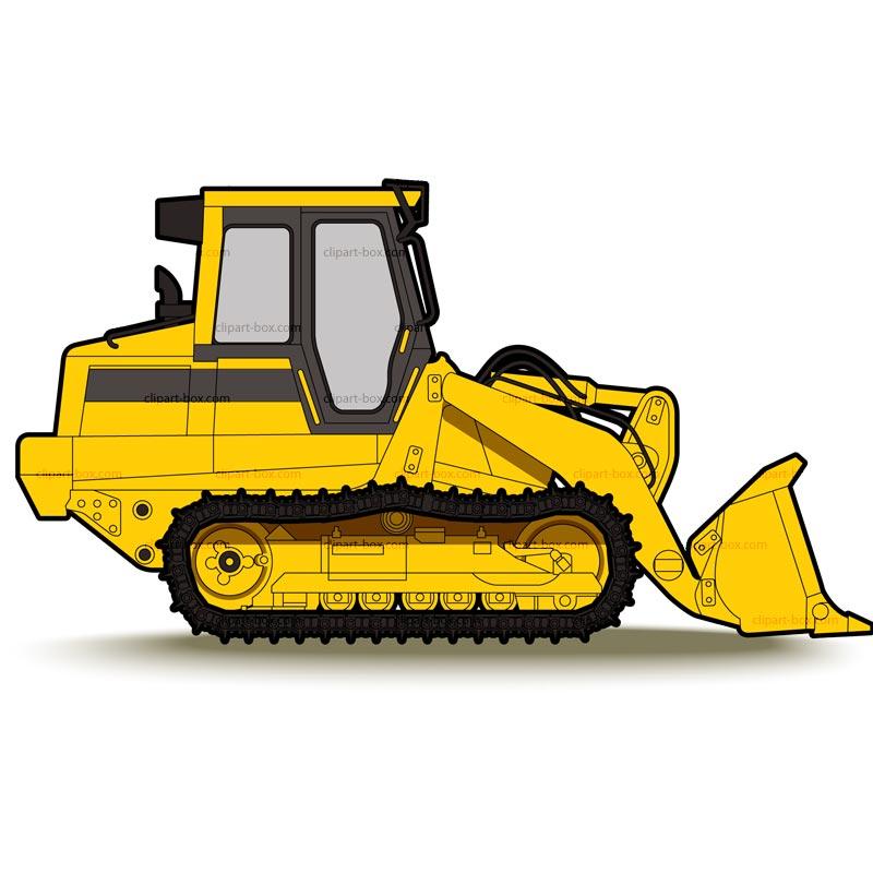 Bulldozer clipart free.