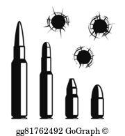 Bullets Clip Art.