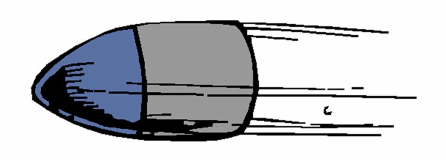 Bullet Blue Gun Ammunition Png Image.