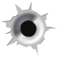 Bullet Hole Clip Art.