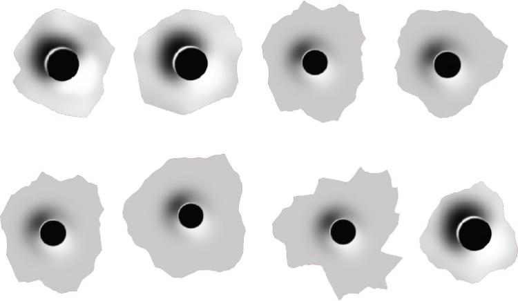 Bullet holes PNG images free download, bullet shot hole PNG image.