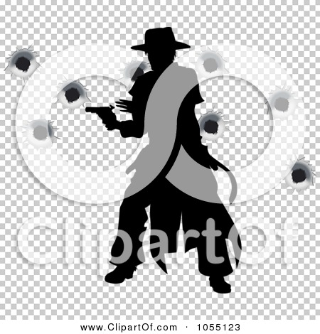 Bullet Holes Silhouette Clipart Free.