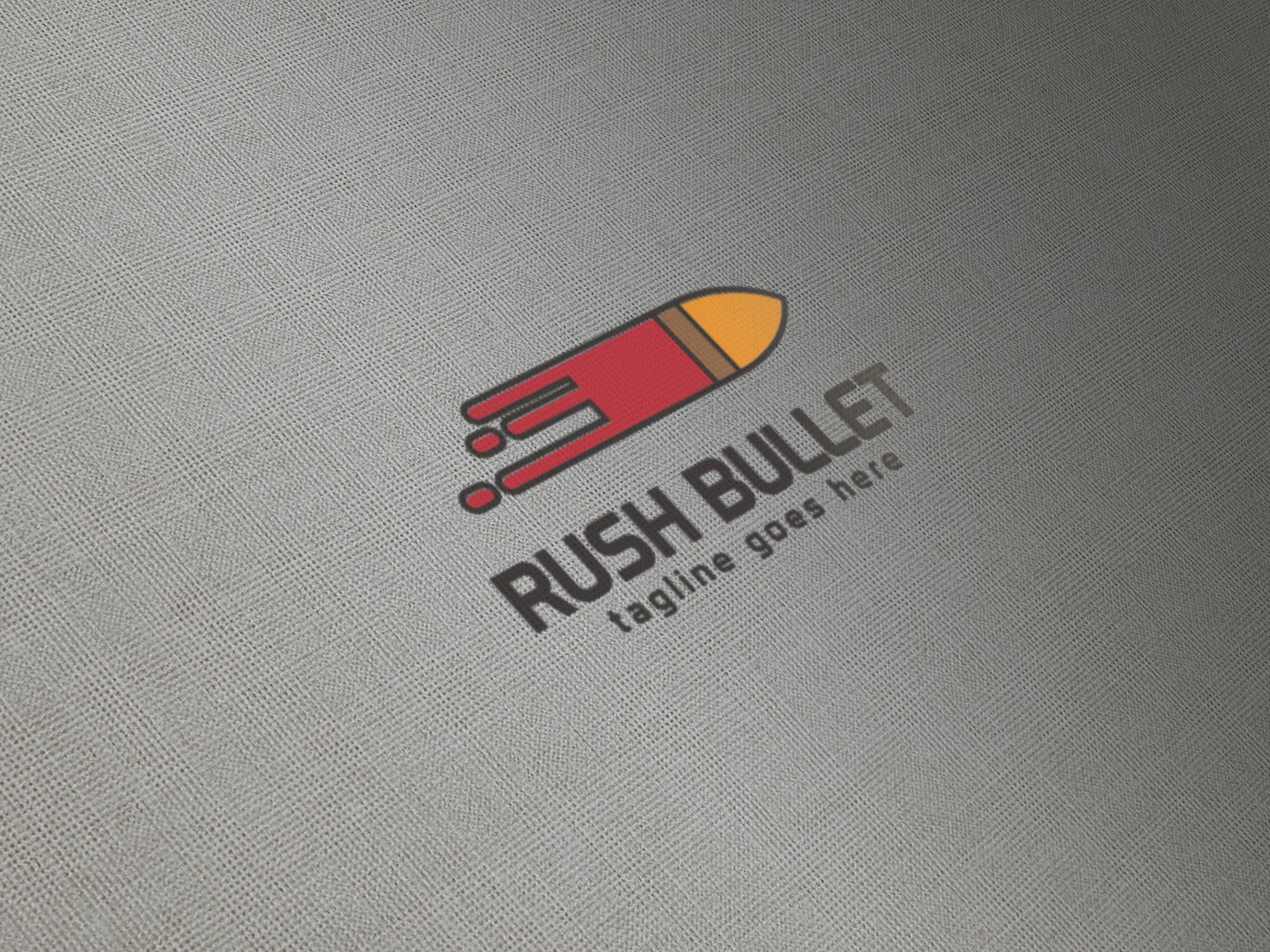 Rush Bullet Logo.
