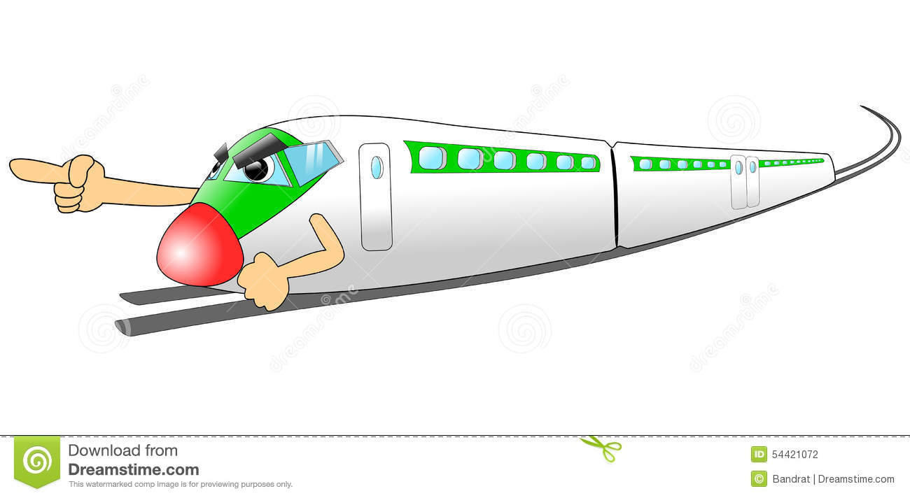 Bullet Train Stock Illustrations.