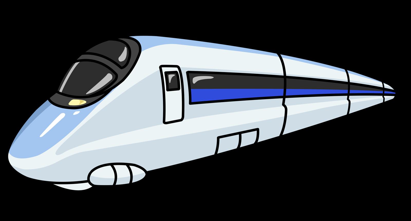 Bullet train clip art.