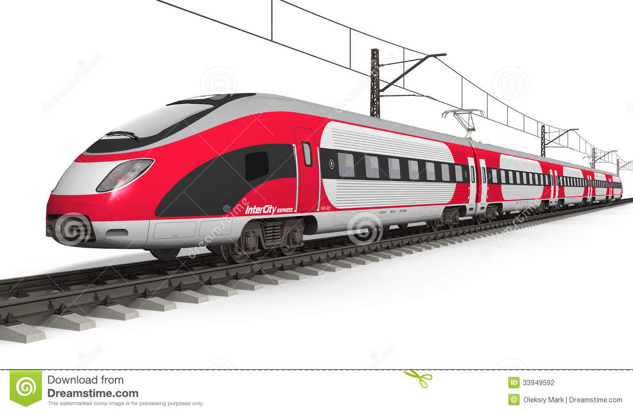 Bullet train hd clipart.
