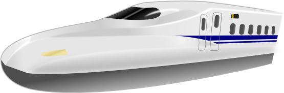 Free Bullet Train Clip Art.