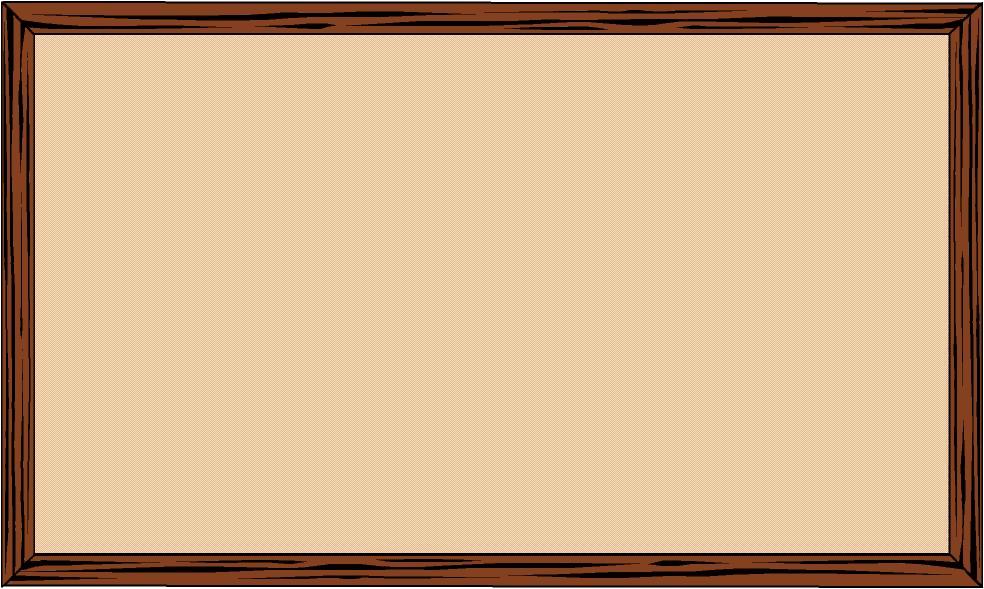 Bulletin Board Clipart.