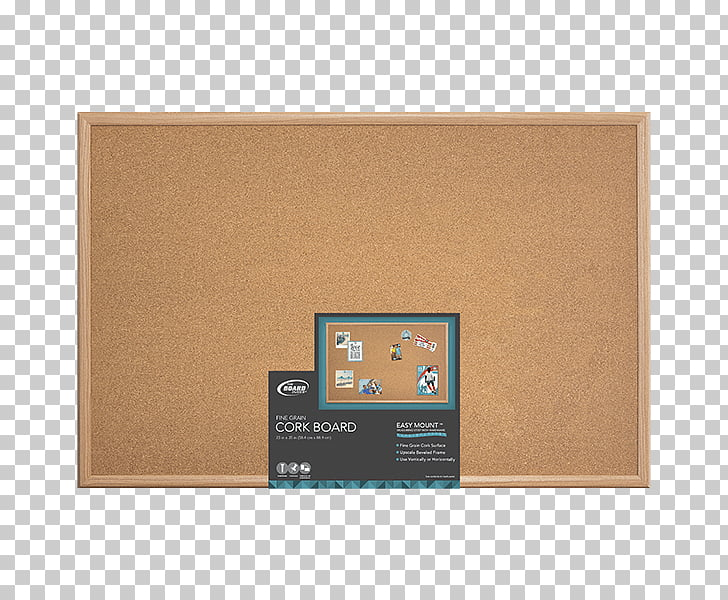 Wood stain Bulletin board Display board Cork, cork board PNG.