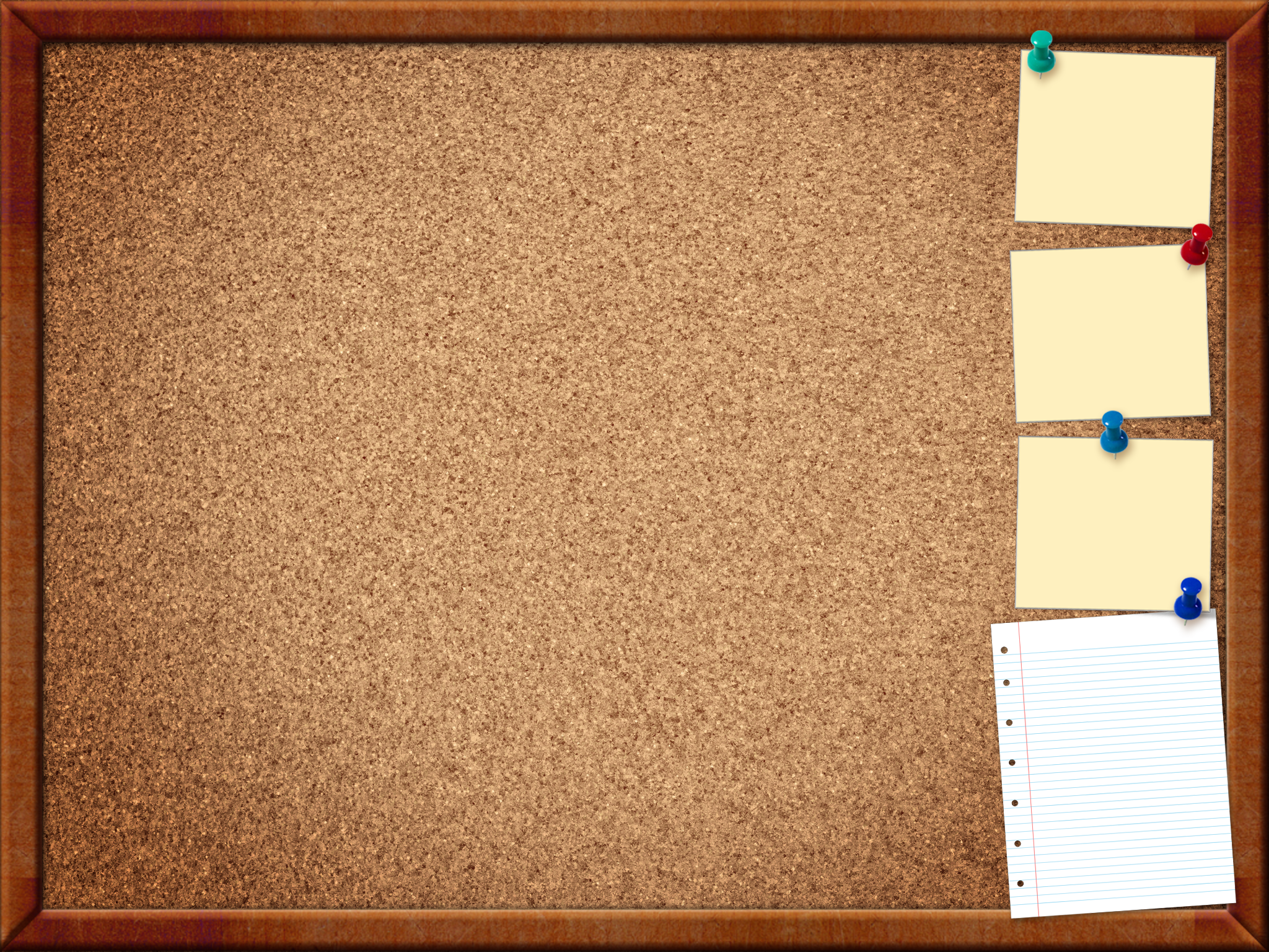 Bulletin board PNG Images.