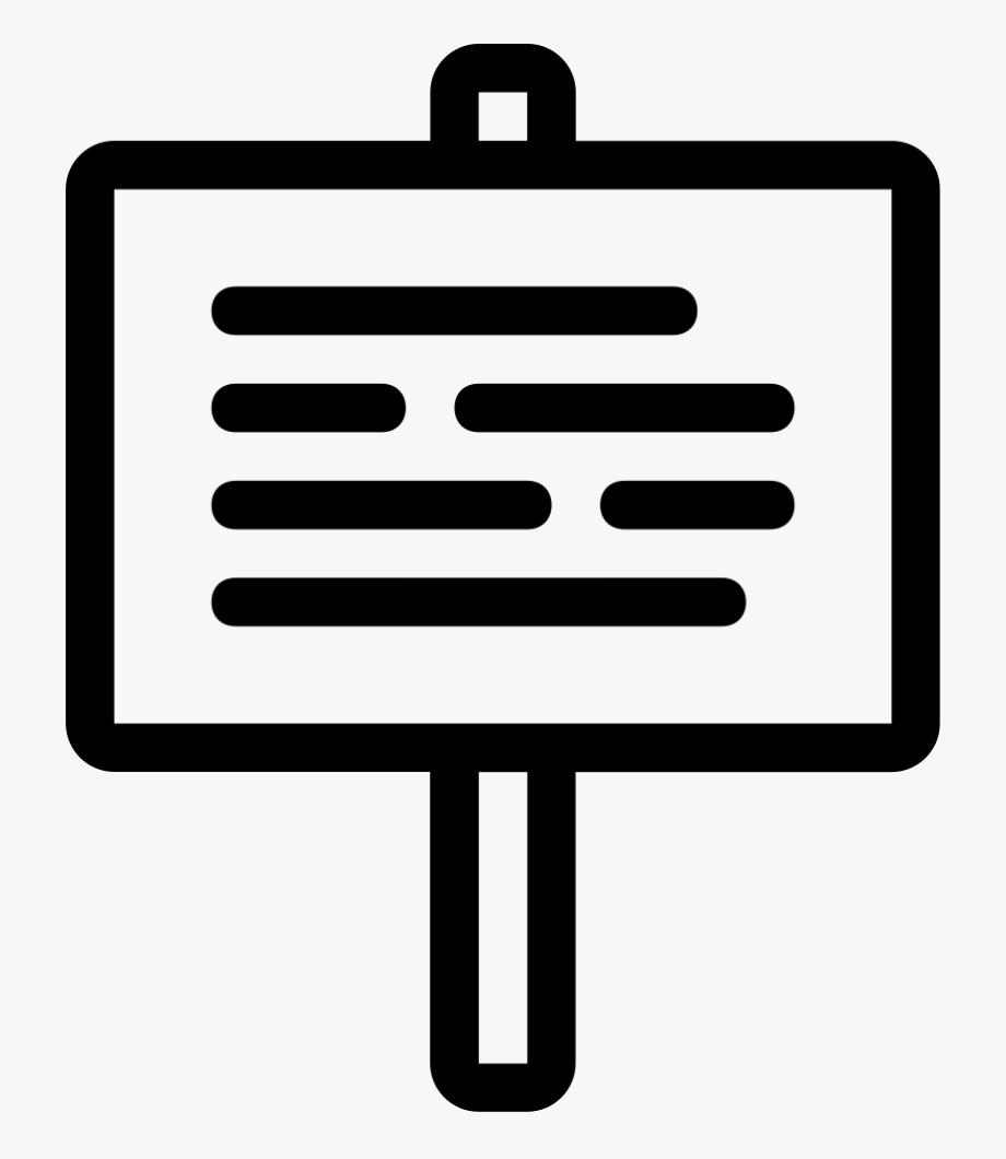Bulletin Clipart Info Board.