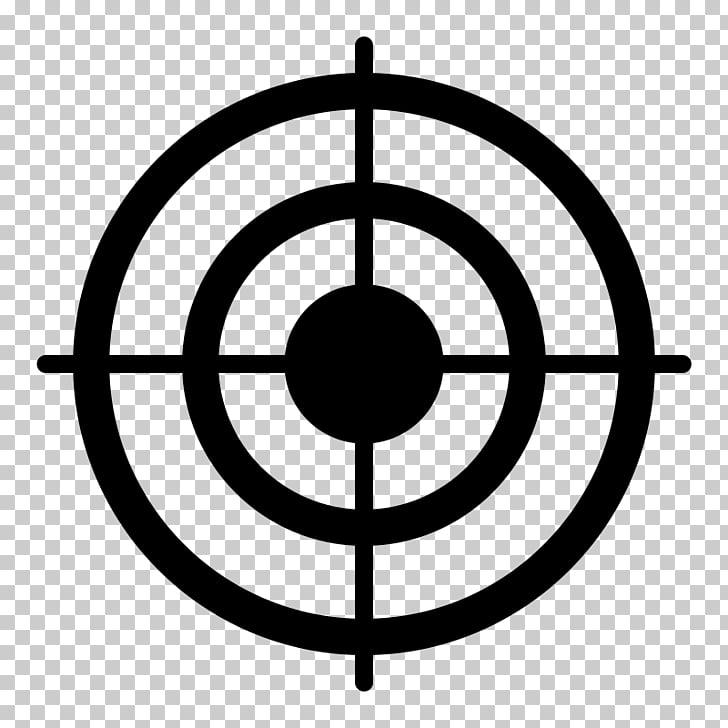 Bullseye Shooting target , market PNG clipart.