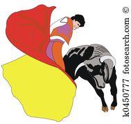 Bullfighter Illustrations and Clipart. 239 bullfighter royalty.