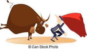 Bullfight Clip Art Vector Graphics. 781 Bullfight EPS clipart.