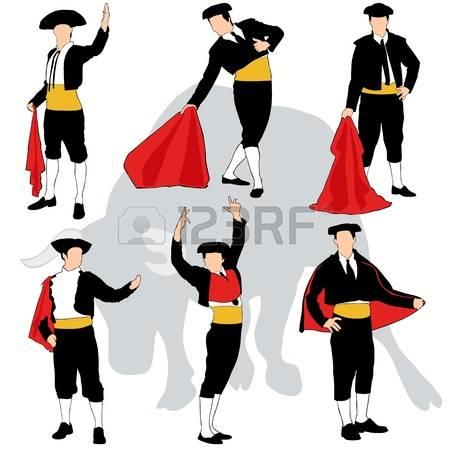 1,082 Bullfighting Stock Vector Illustration And Royalty Free.