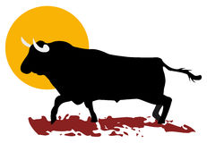 Bullfight Stock Illustrations.