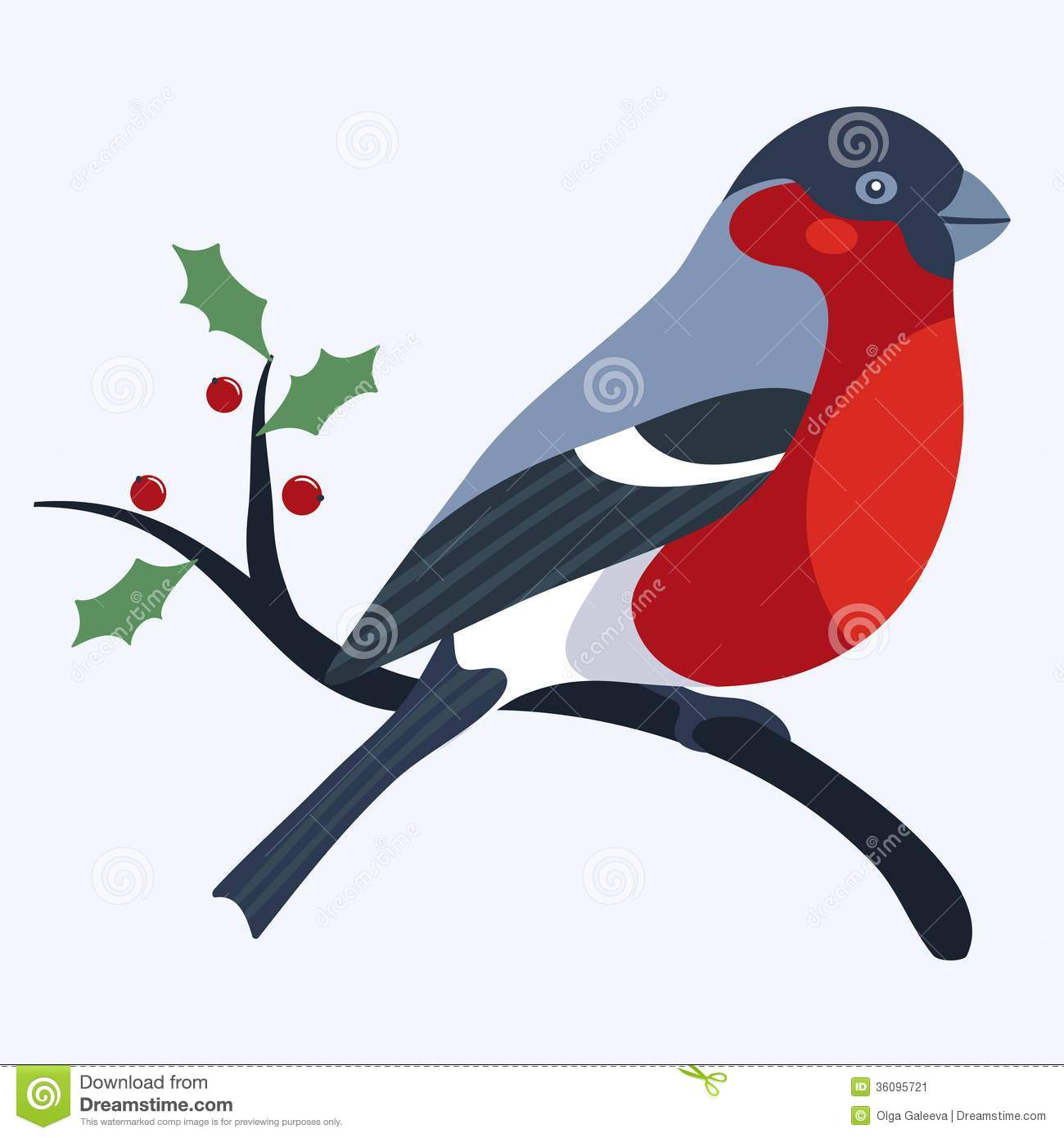 Bullfinch Stock Image.