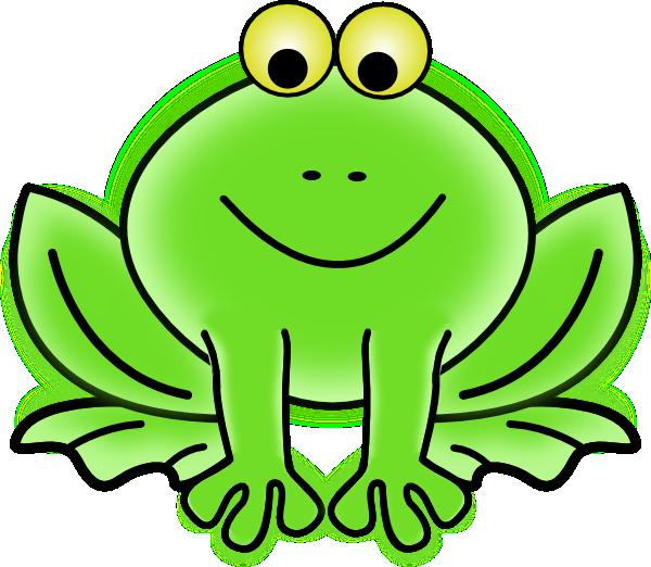 Bullfrog clipart.