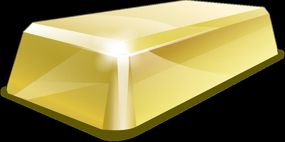 Free vector graphic: Gold Bar, Bullion, Gold Bullion.