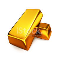 Gold Bullions stock vectors.