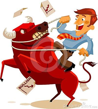 Bullish Stock Illustrations.