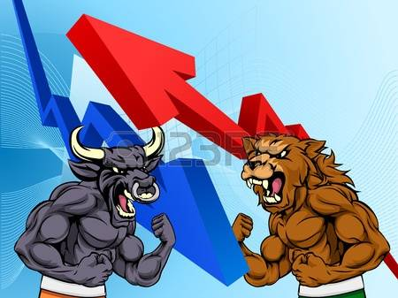 169 Bullish Bearish Stock Vector Illustration And Royalty Free.