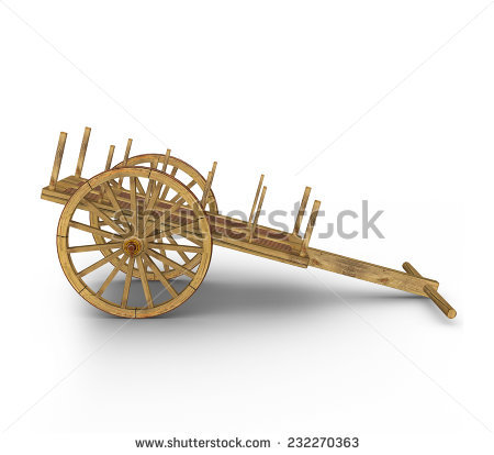 Bullock Cart Stock Photos, Royalty.