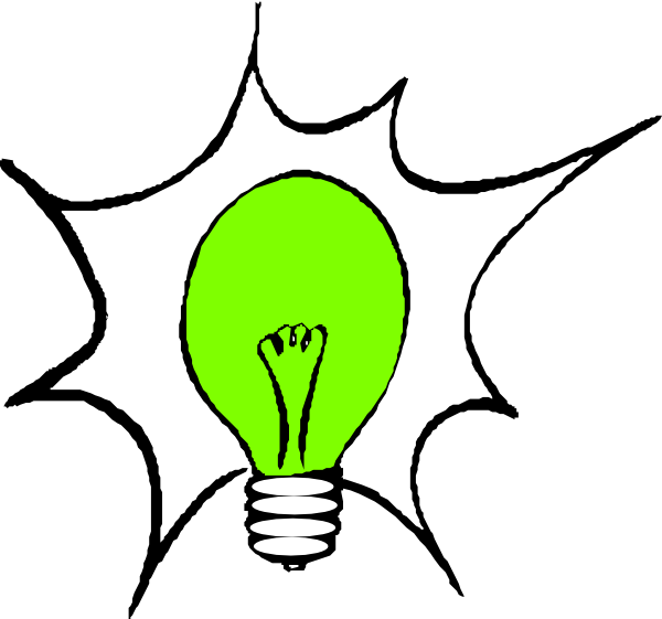 Green Light Bulb (molly Bullock) Clip Art at Clker.com.
