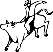 Bull Riding Clip Art #QdHsiA.