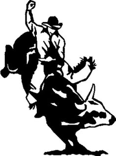 Bull Riding Drawings.