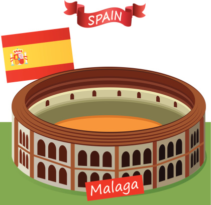 Malaga Province Clip Art, Vector Images & Illustrations.