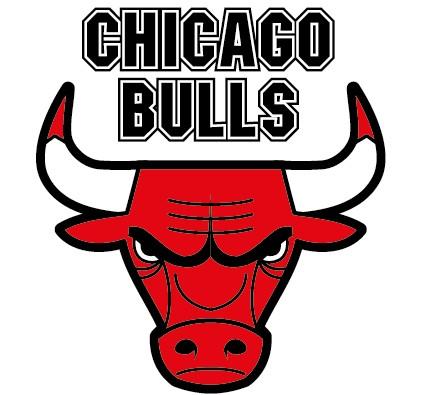 Chicago bulls logo clipart.