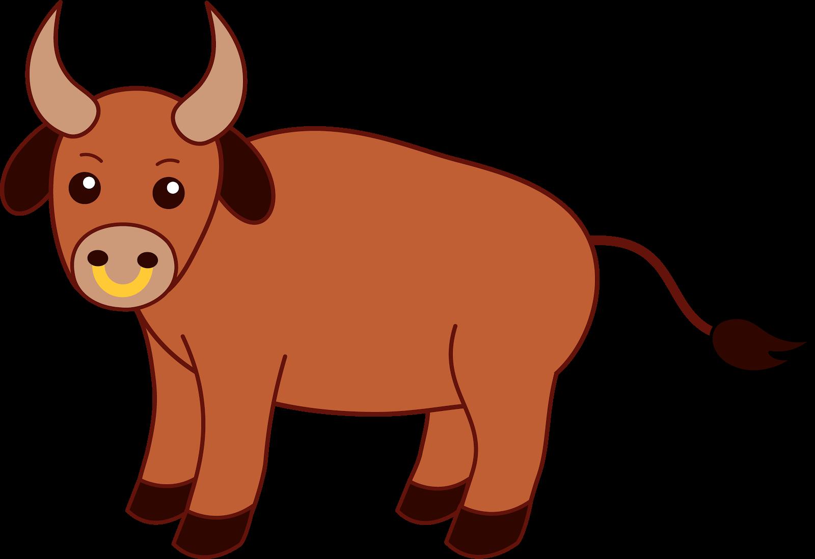 Clipart bull.