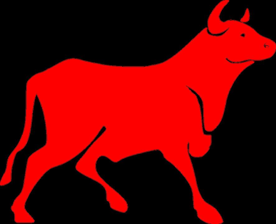 Red, Bull.